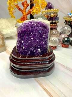烏拉圭天然紫水晶簇