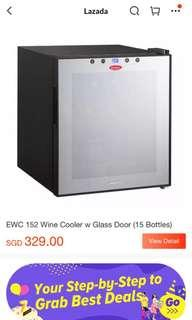 🚚 Only 250! *Nearly New Wine Cooler* 15 bottle wine cooler