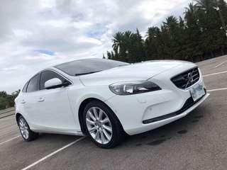 富豪 Volvo v40 2014 旗艦 全景天窗  自動停車