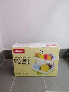 Multipurpose Draining Dish Rack