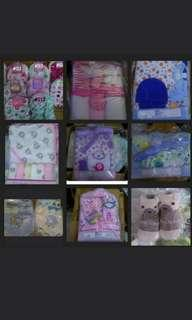 Brand New Baby gift sets clearance sale! Mittens, socks, bibs...etc