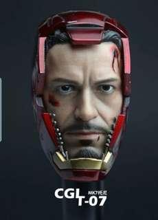 1/6 Tony Stark MK7 Helmet