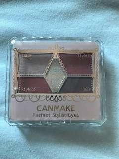 Canmake eyeshadow Perfect Stylist Eyes 18 palette