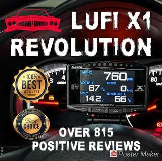 Lufi X1 🏆815🏆 positive Reviews Other car made Lufi x1 OBD/OBD2 Gauge cars expo 2018