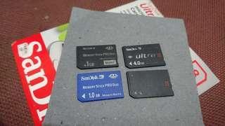 Memory card PSP
