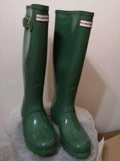 Hunter Rain Boots 雨靴 Original Gloss not Aigle