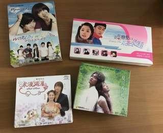 韓劇 VCD 4 隻
