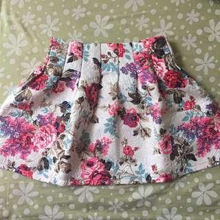 Flower Skirt by Something Borrowed