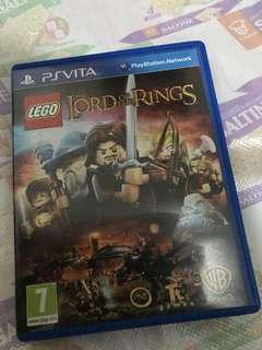 PS VITA LEGO THE LORD OF THE RINGS