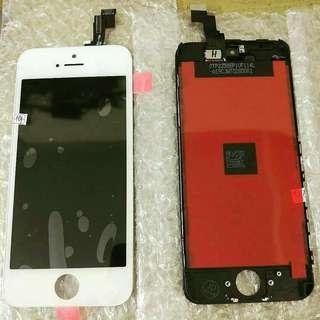 lcd iphone 5/6/7/8 new frre pasang dan tempered glass