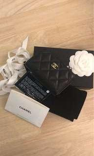 100% authentic chanel coins card purse for let go!!
