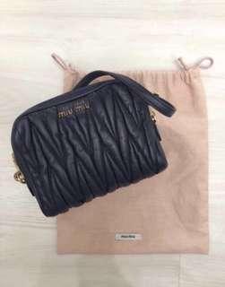 1ba0d56a980 Miu Miu Matelasse Lux Sling Bag