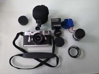 Leica M3 DS, Voightlander Skopar 21mm