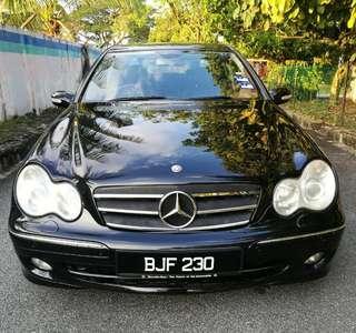 Mercedes Benz C230K 2005 Avantgarde Loan Kredit Available