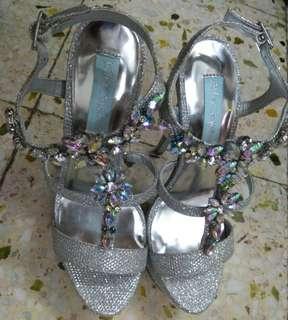 Betsey Johnson Wedding Heels 婚鞋