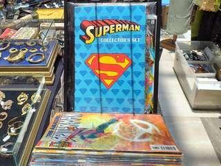 Superman collectors set.