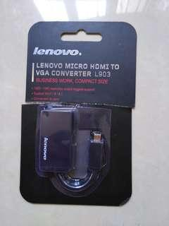 Business use lenovo micro hdmi to vga converter L903