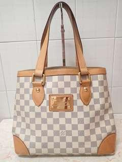 LV damier azur Hampstead pm bag