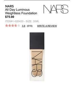 Nars foundation matt