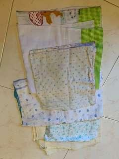Baby wrap and blankets (some Muslim cloth)