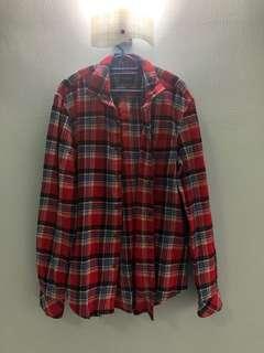Pull & Bear Checkered Shirt