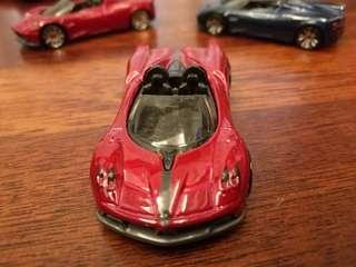 '17 Pagani Huayra Roadster DTW86 Red Mattel Hot Wheels Hotwheels Car #MakeSpaceForLove