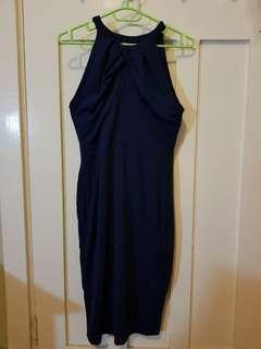 NEW Kookai Navy Blue Nadia Dress