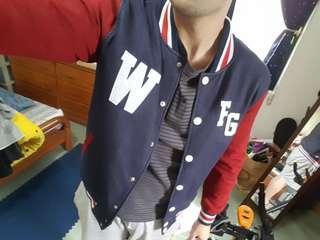 Wdsk 07 潮牌棒球外套