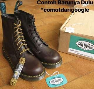Solovair Boots Made In England  Used Legit (Not Docmarts)
