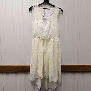 🚚 Beige Dress