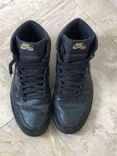"🚚 Air Jordan 1 retro high OG ""black gum"""