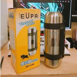 🚚 EUPA 1100CC雙內膽悶燒罐
