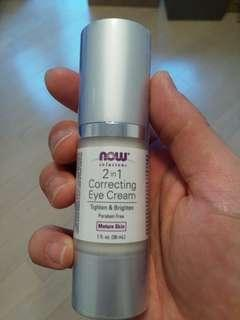 Now solutions 2in1 Correcting Eye Cream