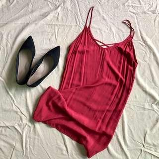 Mini Red Dress