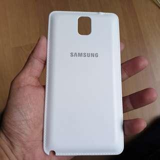 Samsung Note 3 Wireless Back Cover (White Color)