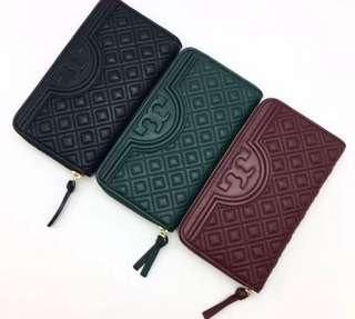 Authentic Tory Burch Fleming McGraw wallet