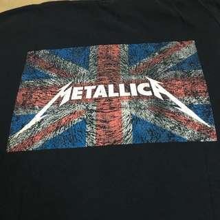 Vtg Metallica Death Magnetic UK British Britain Flag