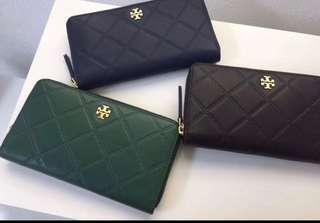Authentic Tory Burch long slim purse wallet