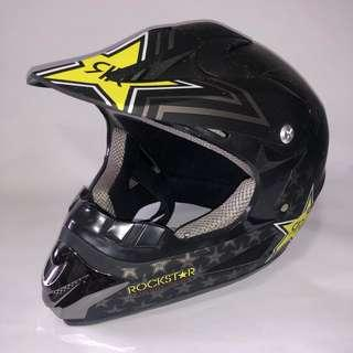 Rockstar Full Face Helmet