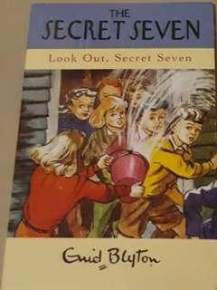 #STB50 Look Out, Secret Seven by Enid Blyton. Brand New in Shrink wrap