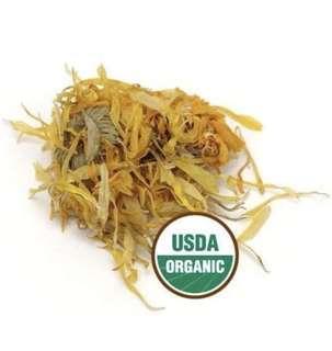 有機金盞花乾(原粒) 美國進口 certified organic calendula flowers whole 30g