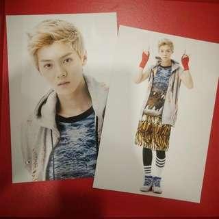 Luhan EXO Wolf Postcard (2 pcs a set) - RM30