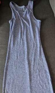 Cotton On Blue Knit Midi Dress