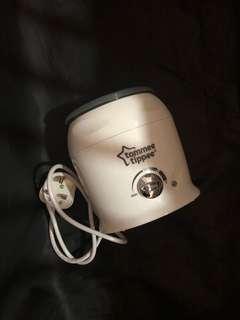 Breast pump & warmer