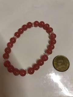 清貨大減價~優質紅紋石~增強愛情運水晶~只帶影相100%New
