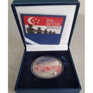 1992 Sterling Silver Proof Medallion