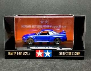 Tamiya 1/64 Nissan Skyline GT-R Vspec II (R34)