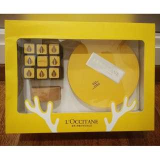 Luhan EXO Loccitane Limited Edition OOP Giftset (Keychain+rubik's cube) - RM180