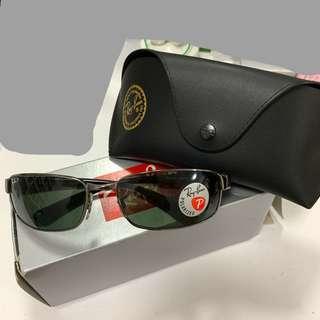 🚚 Ray-Ban 雷朋 正品 全新 太陽眼鏡 墨鏡 復古 銀