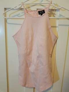 NEW Bardot baby pink tank top